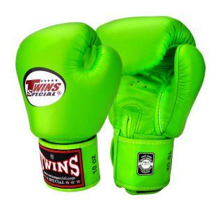 Guante de boxeo Twins Special bgvl-3 de color verde