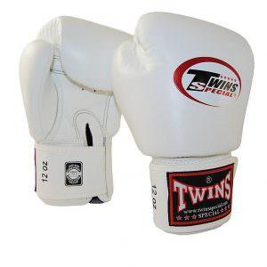 Guante de boxeo Twins special bgvl-3 de color blanco