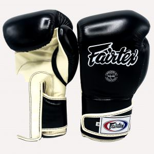 Guante de boxeo Fairtex bgv6 black khaki exclusivo para urban fighter