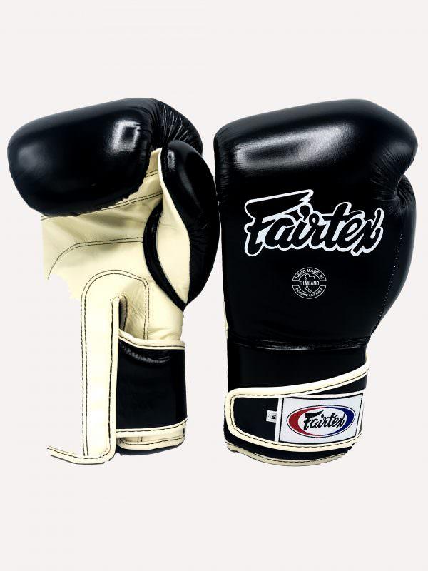 Guante de boxeo Fairtex bgv6 black khaki exclusivo para urban fighter