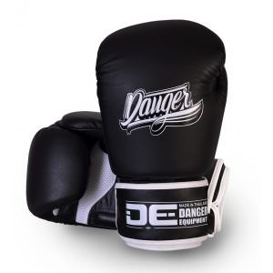 Guante de boxeo Danger Thai legend black de color negro