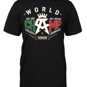 Camiseta Canelo and still blk , oficial del canelo power