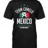 Camiseta oficial del Canelo Alvarez con bandera de mexico