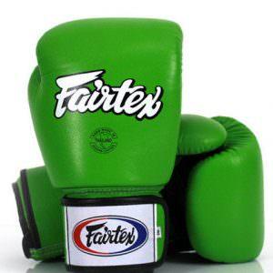 Guante de boxeo Fairtex bgv1 green hulk de color verde
