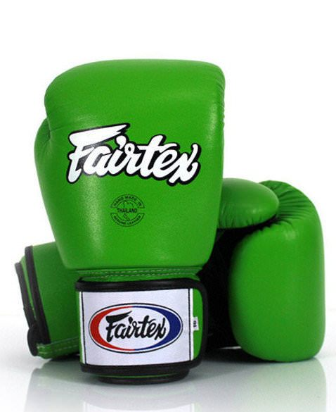 Guante de boxeo Fairtex bgv1 green hulk de color verde