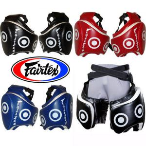Musleras fairtex de piel y color negro