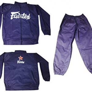 Chandal y traje sauna fairtex de color azul