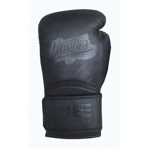 Guante de boxeo Danger Rocket 5.0 Cobra de color negro